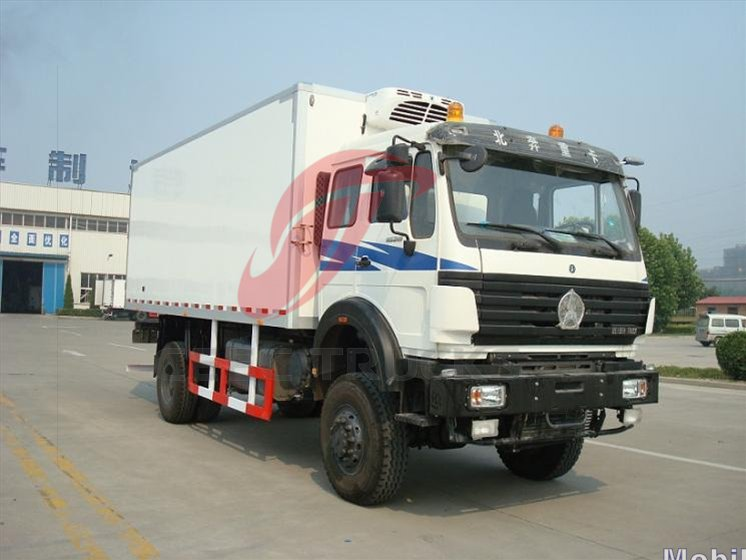 beiben 10 CBM Refrigerator  truck for sale