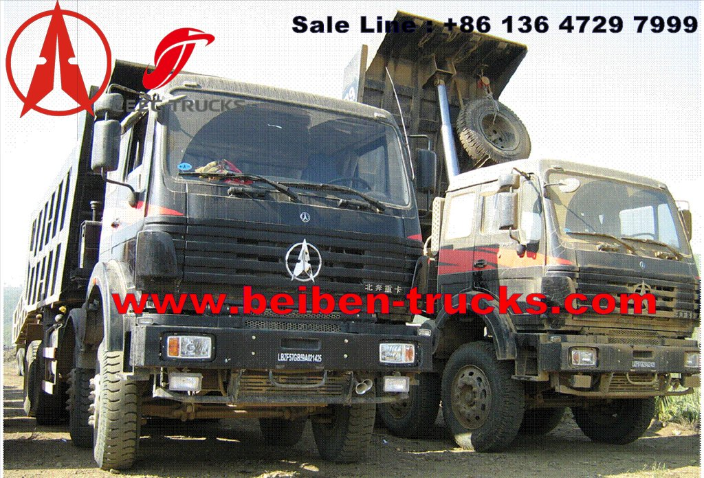 china Tipper Truck Dump Truck Beiben/North Benz 6x4 340HP