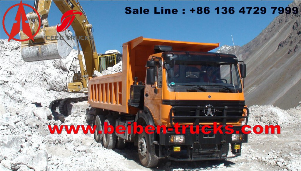 china Beiben Weichai Engine 340hp Strong Dump Truck  manufacturer