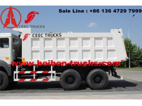cheap north benz dump truck manufacturer for congo country