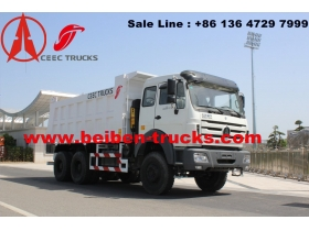china Beiben NG80 6x4 30tons Dump Truck for African Market