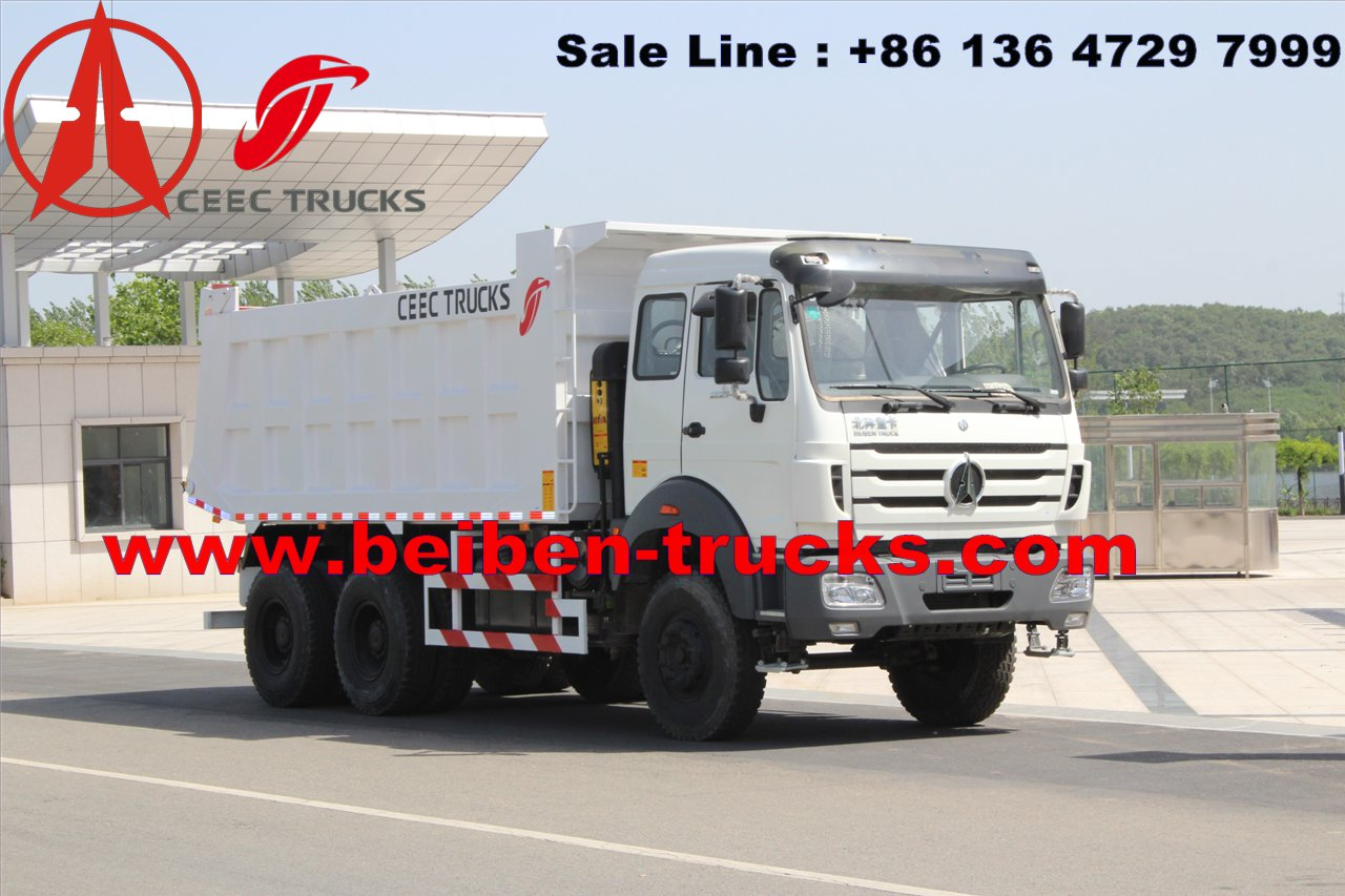 china Beiben Truck 6x4 Dump Trucks Right Hand Drive supplier