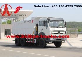 china Beiben Truck 6x4 Dump Trucks Right Hand Drive supplier