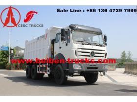 congo Beiben 6x4 Dump Truck 25t dumper tipper trucks  supplier