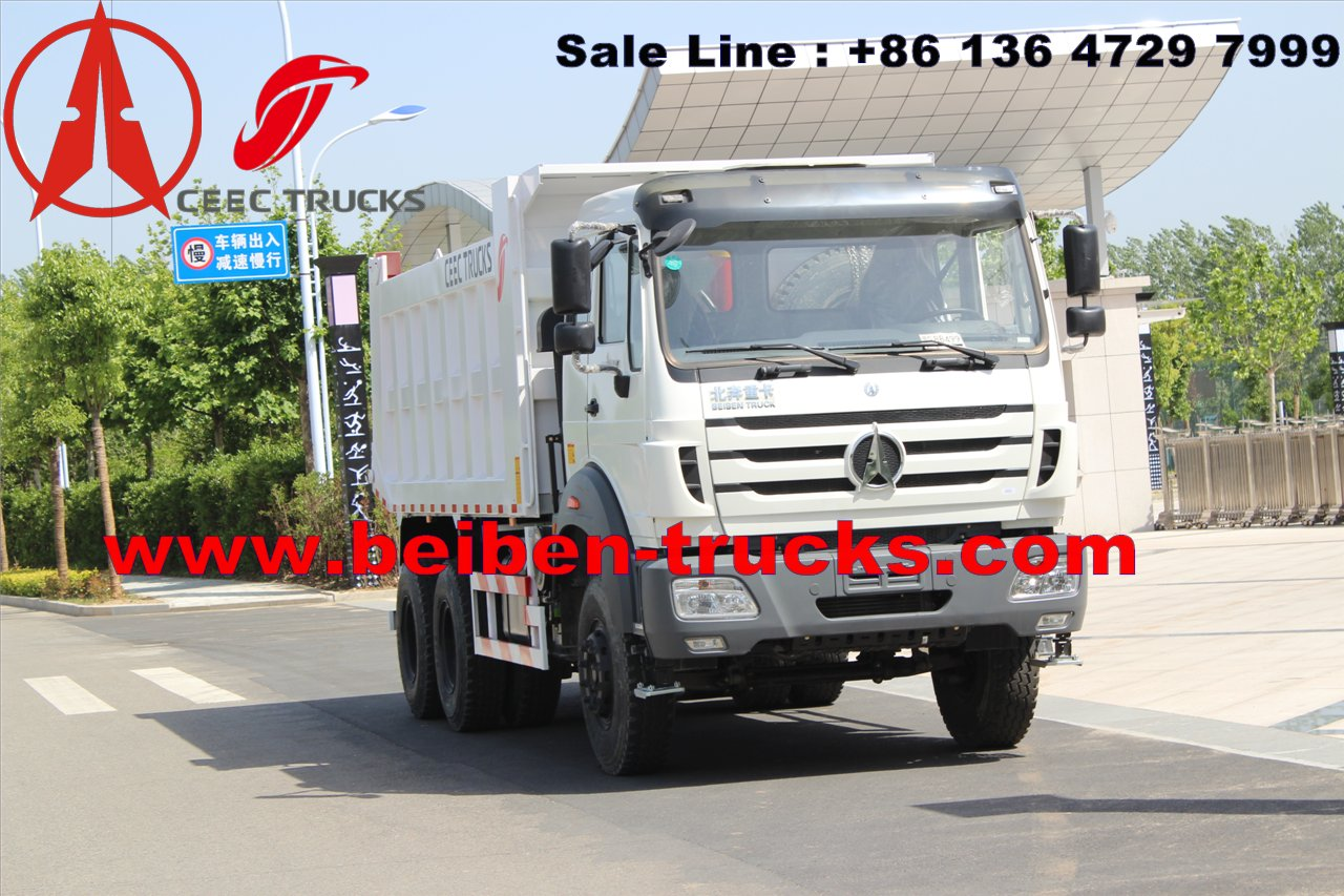 congo North Benz Beiben 340hp 10 wheels tipper dump truck sale