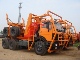 cheap beiben 6*6 drive logging truck supplier