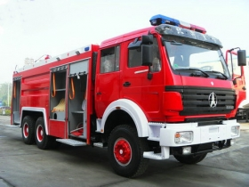 china beiben fire trucks manufacturer