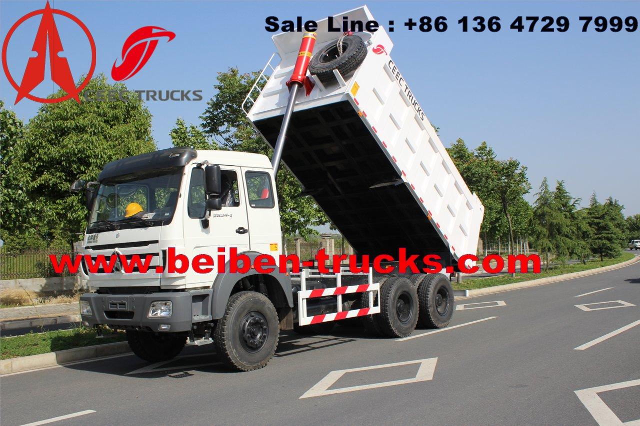 china north benz 380 hp dump tipper truck manufacturer
