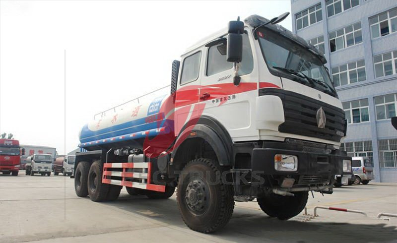 north benz 20 CBM water tanker manufacturer
