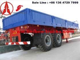china 60 T bogie suspension semitrailer manufacturer