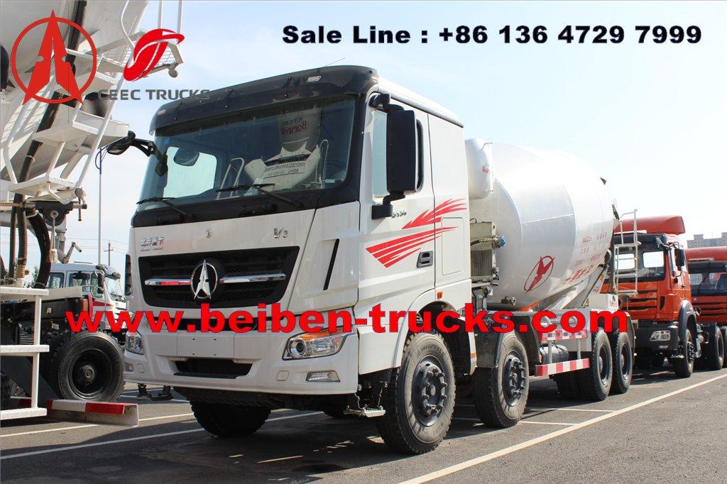 cheap price for beiben V3 concrete mixer truck
