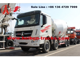 cheap price for beiben V3 concrete mixer truck