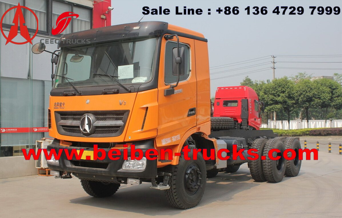 China north benz 340 Hp engine dump truck manufacturer