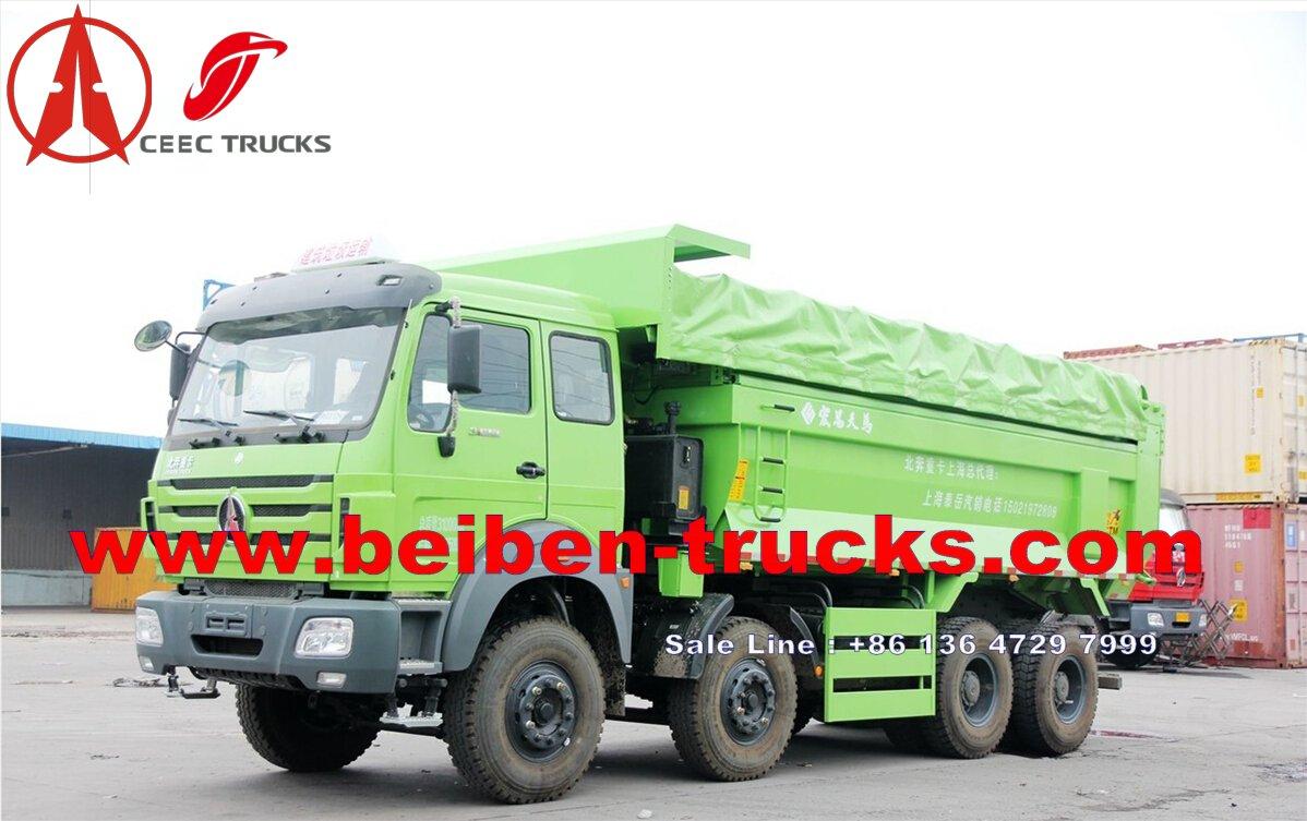 Beiben 12 wheeler 340 Hp dump truck price
