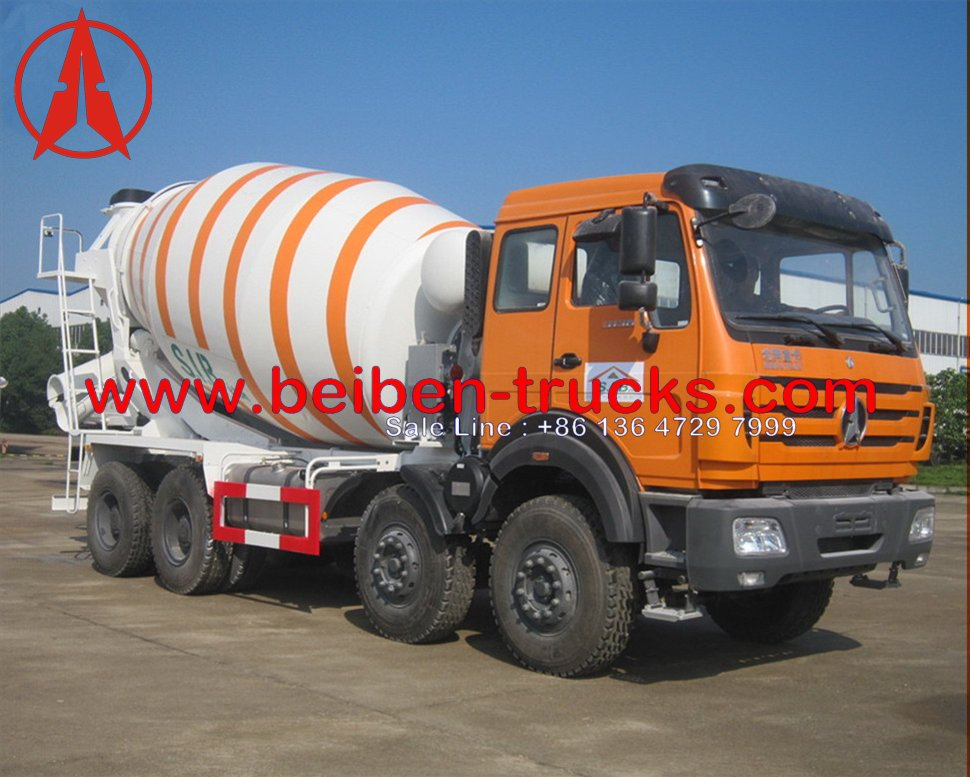 Buy Beiben 14 CBM Concrete Mixer Truck Manufacturer From China ...