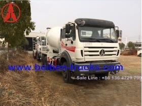 china beiben 2534 mixer truck manufacturer