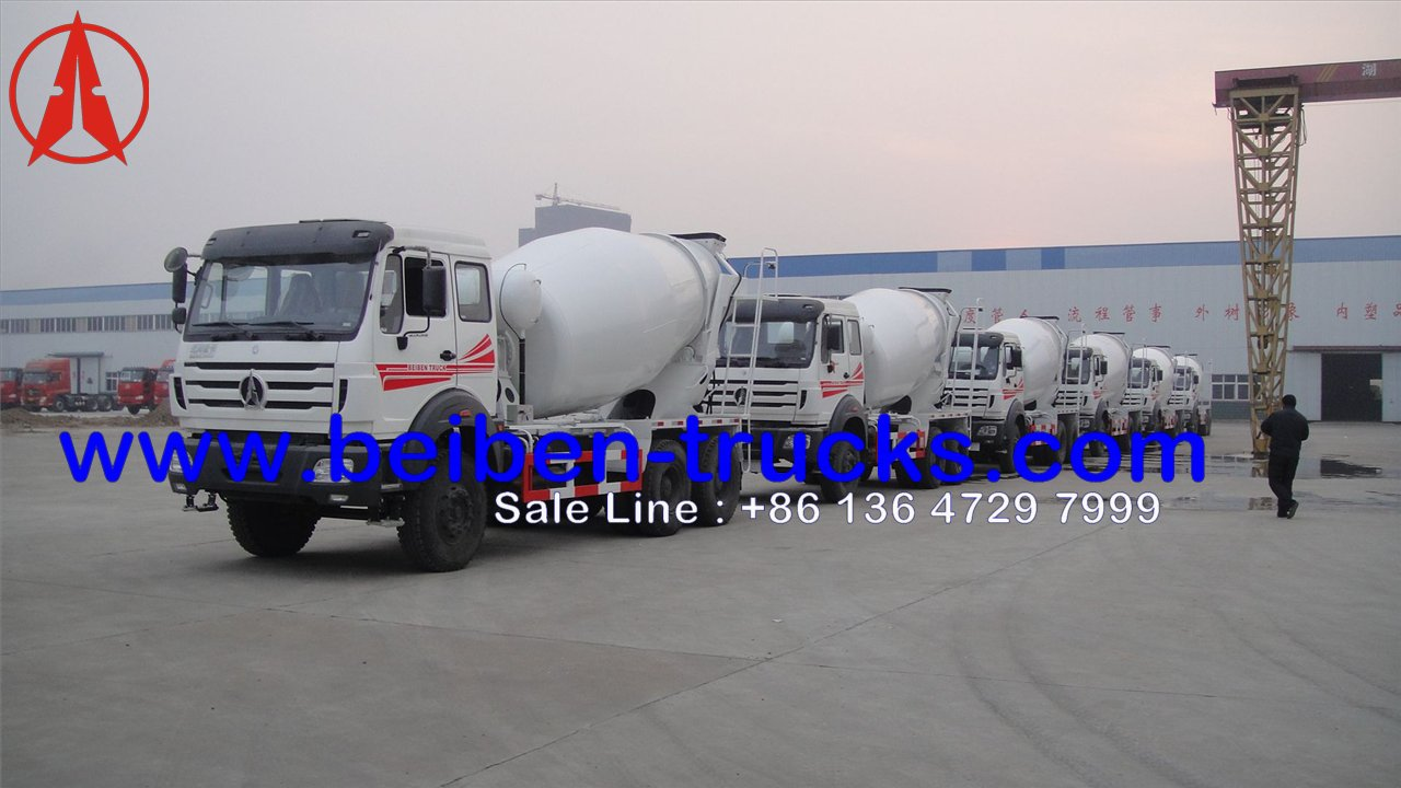china beiben 2534 mixer truck manufacturer