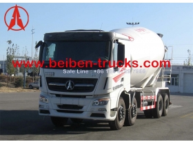 china best price for beiben V3 concrete mixer truck