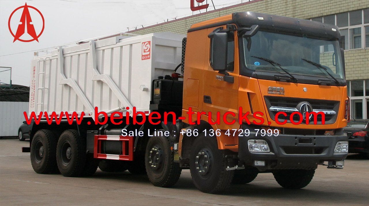 China north benz V3 garbage collection truck