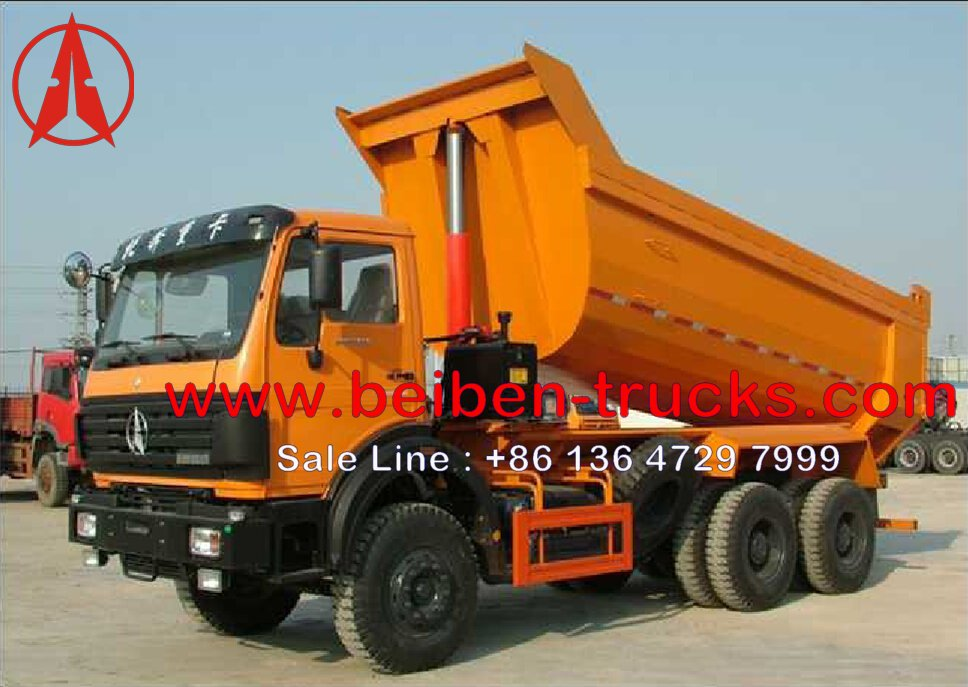 china north benz hardox 50 T dumper manufacturer