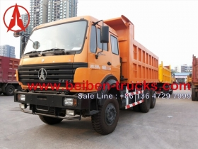 china beiben 6*4 dumper in stock