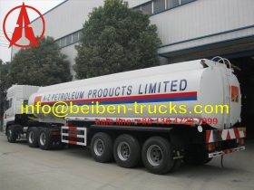 west africa fuel tanker semitrailer supplier