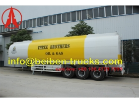 china fuel tanker tanker trailer supplier for africa