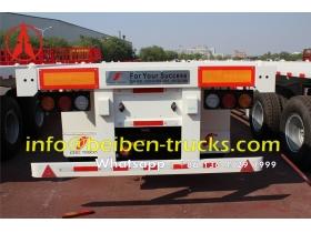 congo bogie suspension container semitrailer supplier