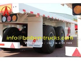 china semi remorque bogie suspension container manufacturer