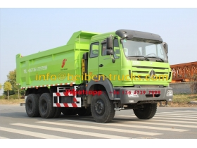 best Chinese Truck Euro3 380hp air condition Beiben dump truck