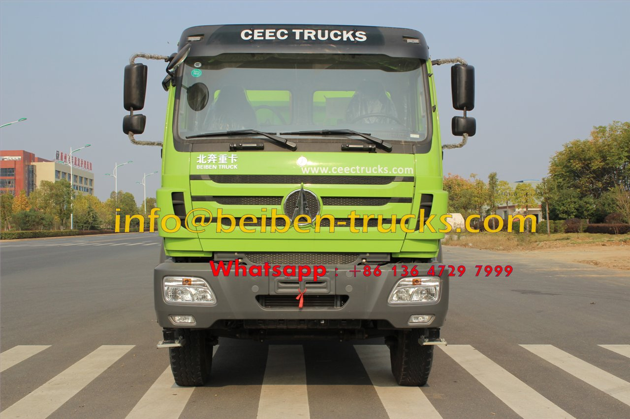 2015 New Heavy Duty Truck Beiben Dump Truck for Sale In Congo customer