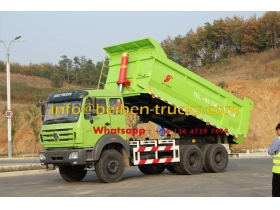 china Good quality Beiben 310hp 6X4 10 wheel dump truck for hot sale