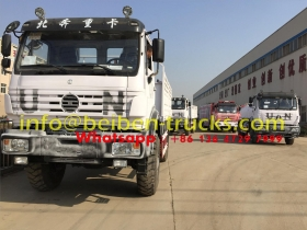 UN 4*4 wheel drive military truck from china