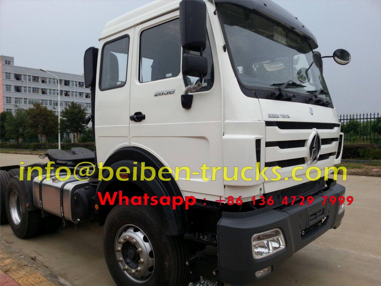 tanzania beiben 2636 tractor trucks