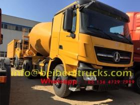 beiben V3 10 CBM concrete mixer trucks manufacturer