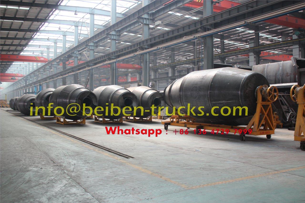 north benz 9 CBM concrete mixer truck supplier