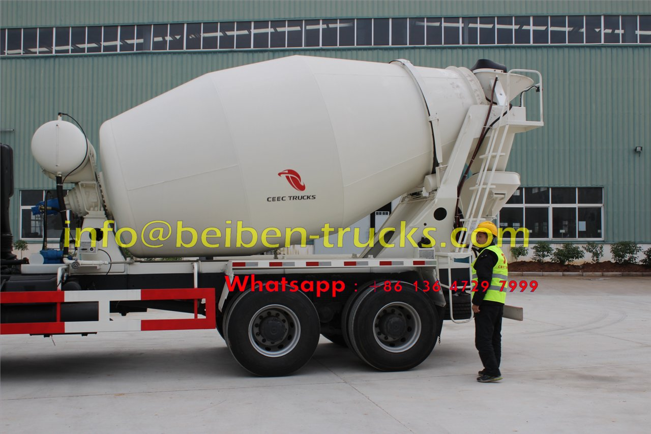 beiben 2528 cement mixer truck manufacturer