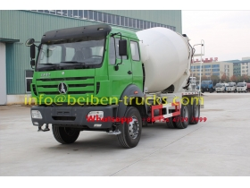 north benz 9 CBM concrete mixer truck supplier