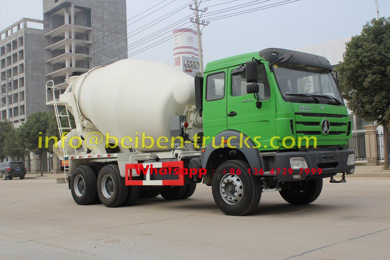 Buy 2015 New Model Beiben Concrete Mixer Truck Price 2015