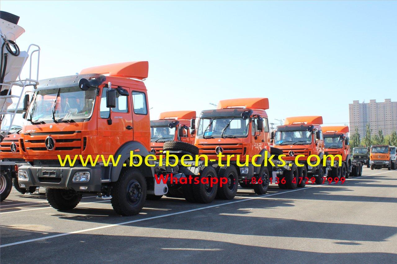 Beiben RHD 2538 tractor truck price