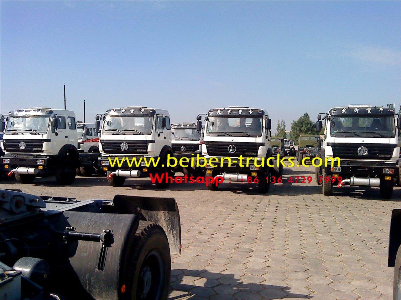 North benz 2534 6*6 wheel drive fuel trucks manufacturer