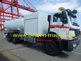 china beiben 6*4 drive fuel tanker manufacturer