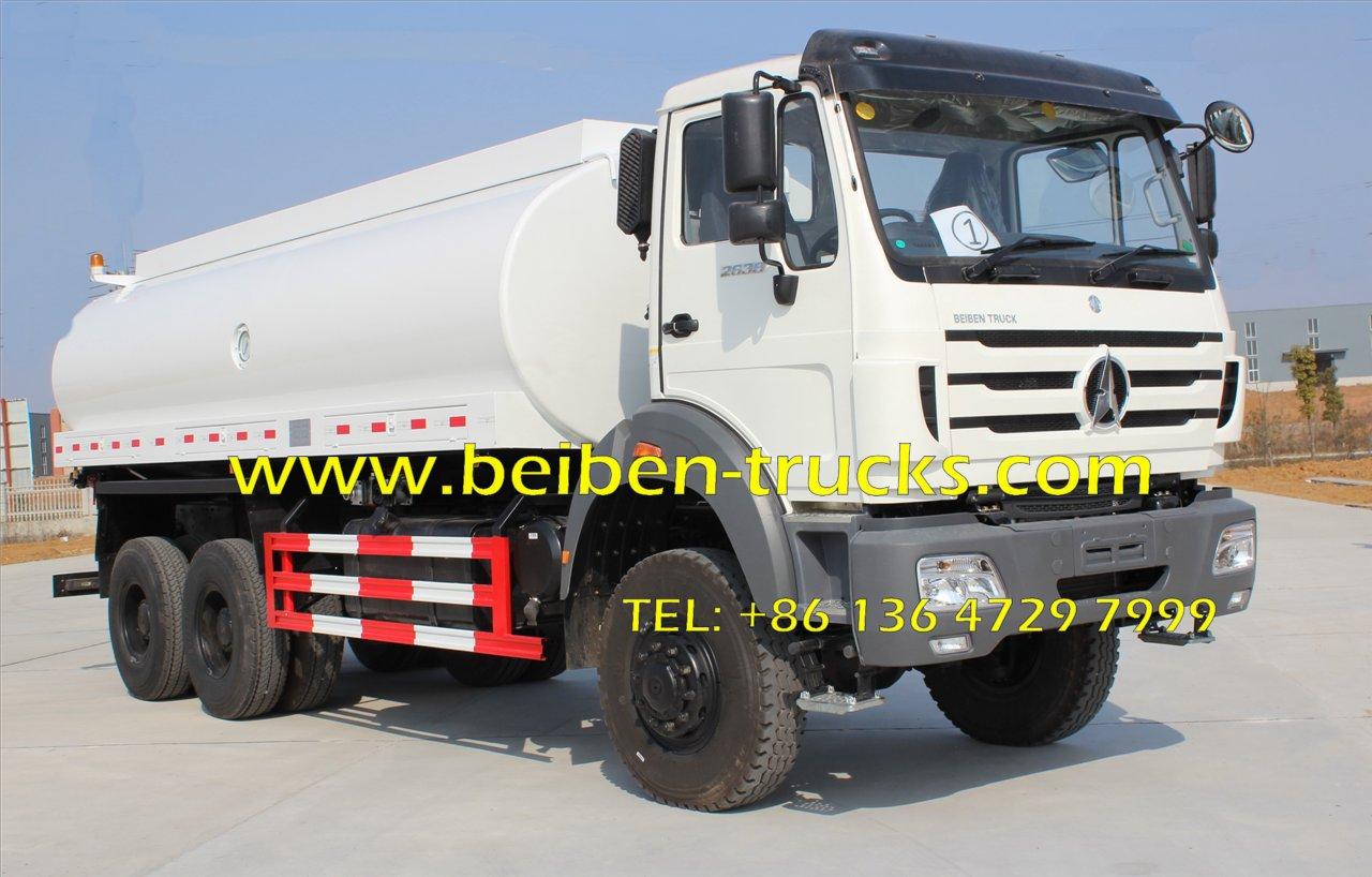 Good Condition beiben NG80B 2638 transportation water tank truck  supplier