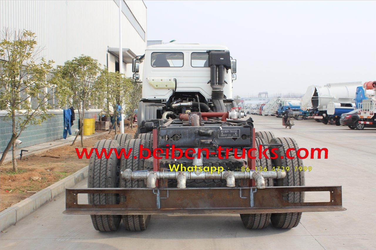 top china brand beiben 2638 off road water truck supplier