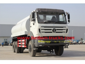 Beiben 6x6 water tank truck 10-20m3 tanker truck price