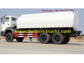 china 6x4 North Benz Beiben Water Tank Truck 20m3/ 20cbm Water Tanker