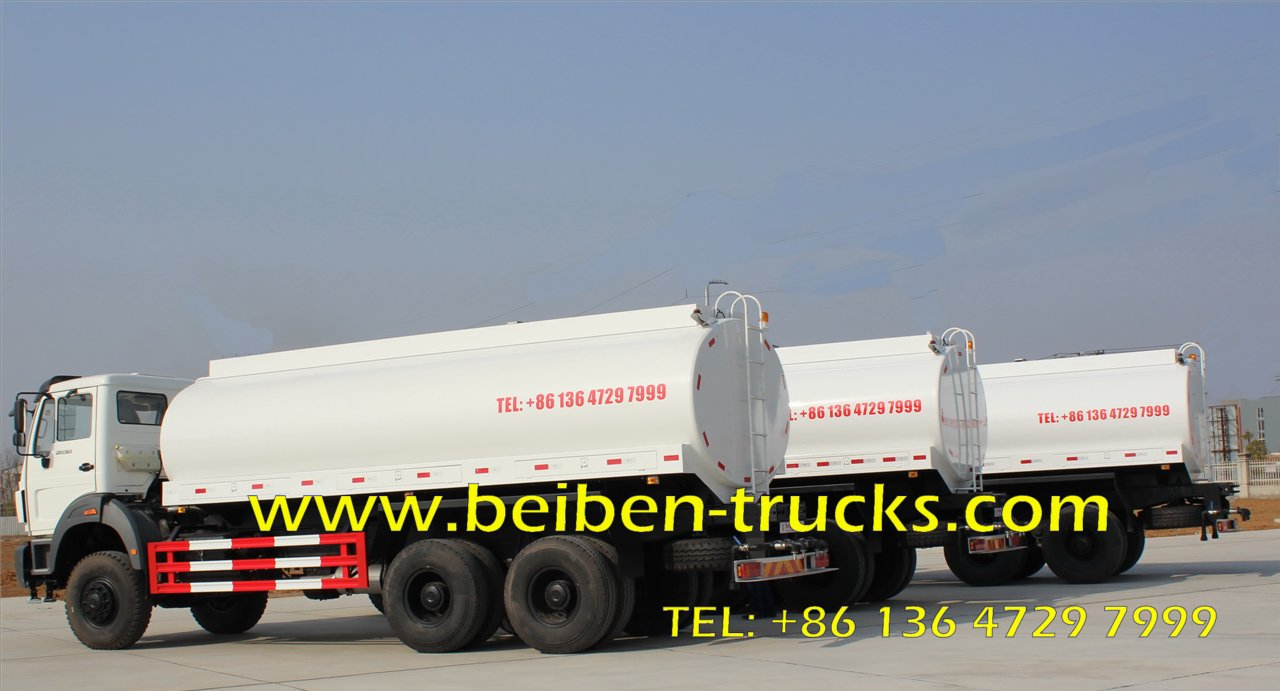 top china brand beiben 2638 off road water truck supplier