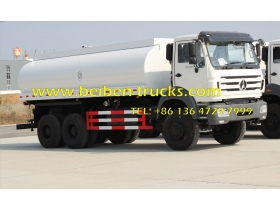 BeiBen/North Benz 6x4 20000L 380hp water tanker truck for sale