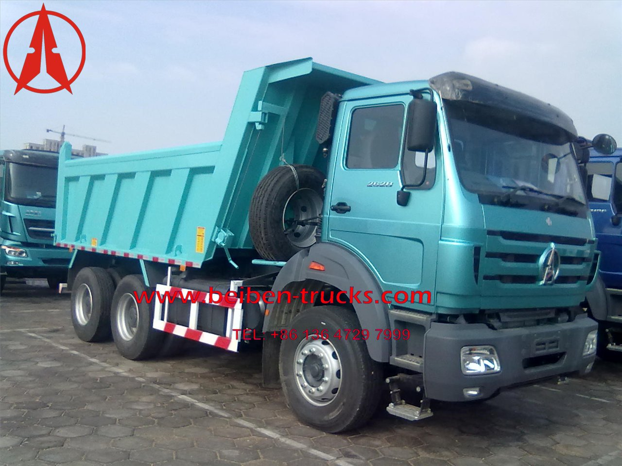 baotou Beiben 50 T dump trucks supplier