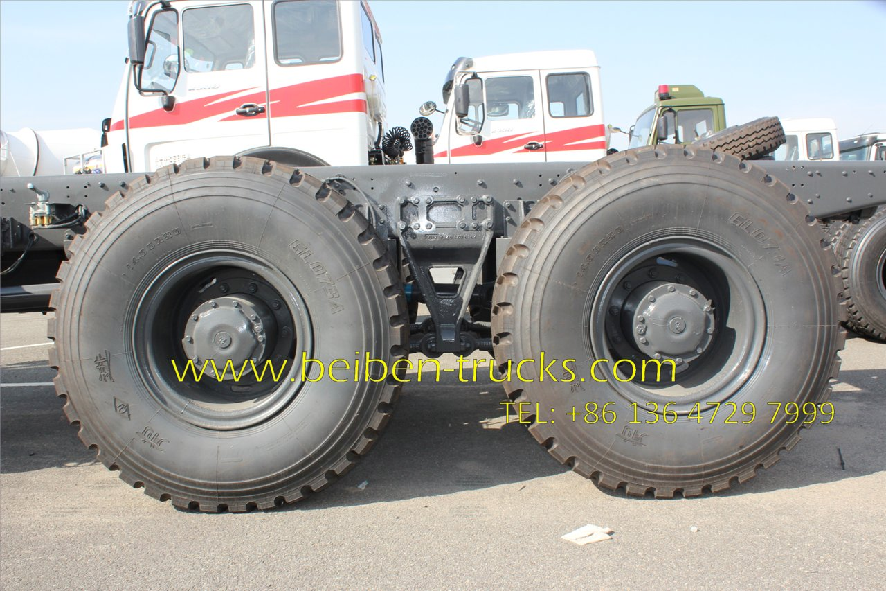 beiben 2636 all wheel drive tractor truck supplier